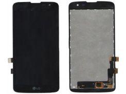 Дисплей (экран) + сенсор (тач скрин) LG K7 (X210, X210DS) black