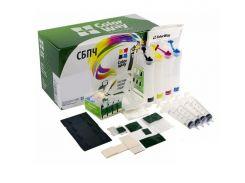 СНПЧ ColorWay Epson XP313/413/103/203, с чипами, 4x100 г чернил (XP413CC-4.1B)