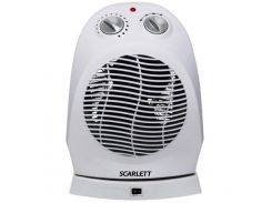 Тепловентилятор Scarlett SC-157 White