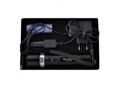 Фонарь Police BL 8626-S-XPE, 1 аккуму. 18650, zoom, алюминий, зарядка 220В+12В, 3 режима, кассета 3 ААА р
