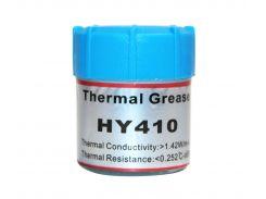 Термопаста 10.0g Halnziye HY410, колба, белая