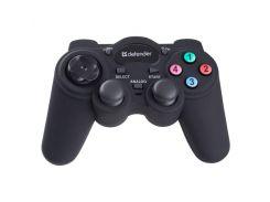 Геймпад Defender Game Racer Turbo Black, USB, 13 кнопок