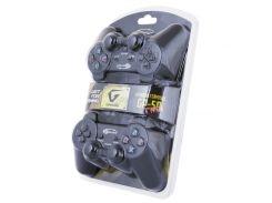 Геймпад Gemix GP-50 Twin Black, USB, вибрация, для PC
