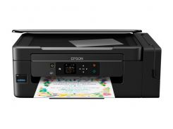МФУ струйное цветное Epson L3070 (C11CF47405), Black, WiFi