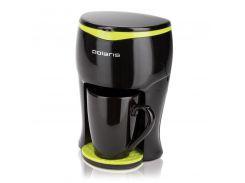 Кофеварка для дома Polaris PCM 0109, капельная, кавоварка поларис