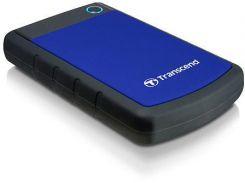 Внешний жесткий диск 1 Tb Transcend StoreJet 25H3P, USB 3.0, 5400 rpm (TS1TSJ25H3B) портативный съемный переносной накопитель винчестер hdd 1 Тб