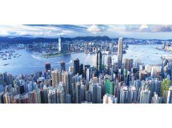 Картина панорамная ГОНКОНГ
