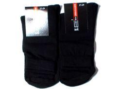 Носки мужские черные усиленные размер 27-29