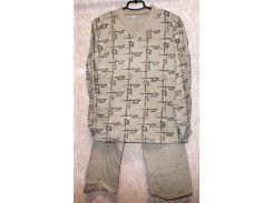Пижама на байке мужская Турция размер XL (наш 54-56)