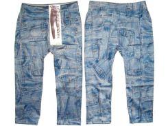Леггинсы - Капри под джинс бесшовные модель№8