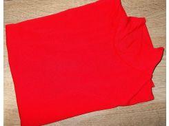 Гольф котон Турция размер 42-48 код 027 красный