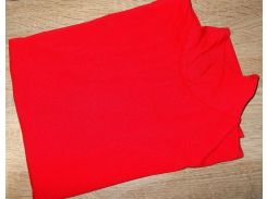 Гольф котон Турция размер 48-54 код 050 красный