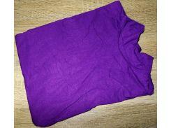 Гольф котон Турция размер 48-54 код 050 фиолетовый