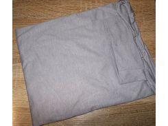 Гольф котон Турция размер 54-60 код 057 серый
