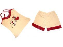 Пижама Турция майка и шорты размер 44-48