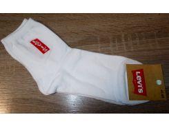Носки мужские хлопок Турция размер 41-45 белые