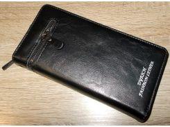 Кошелек - клатч черный №10223