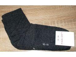 Носки мужские хлопок c широкой резинкой размер 40-44 черные