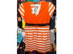 Туника с карманами для дома Турция хлопок размер M,L,XL,XXL L