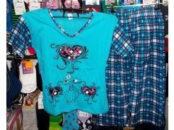 Пижама хлопковая Турция размер M,L,XL M
