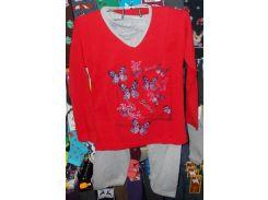 Пижама на байке хлопковая Турция размер M,L