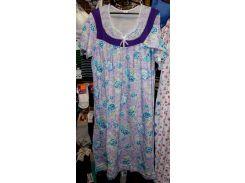 Ночная сорочка Узбекистан 100% хлопок размер M,L,XL,2XL,3XL