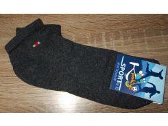 Носки короткие Житомир размер 42-45 серые