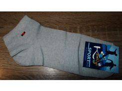Носки короткие Житомир размер 39-42 светло-серые