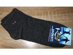 Носки короткие Житомир размер 39-42 серые