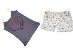 Пижама Турция майка и шорты размер 42-46