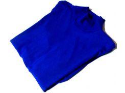 Гольф котон Турция размер 48-54 код 050 синий
