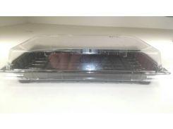 Упаковка для суши с крышкой ПС-64Д (20,5/13,5), 50 шт/пач