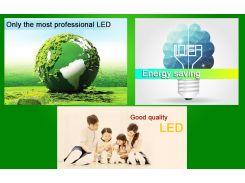 220В Светодиодная лампа Энергосберегающая 20 шт комплект 3 Ватта, Е27
