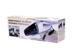 Компактный автомобильный пылесос High-power Portable Vacuum Cleaner, Пылесос в машину, Авто Пылесос