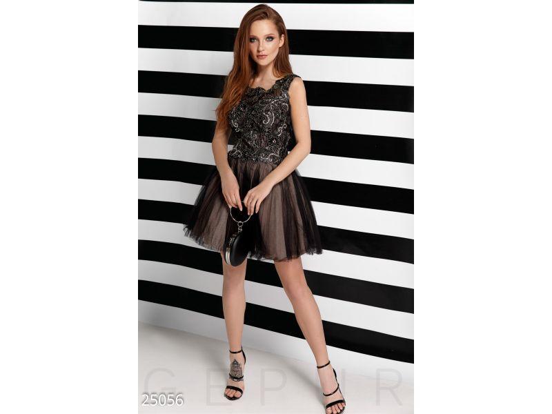 827a811dff1 Двухцветное вечернее платье купить недорого за 3 622 грн. на Vcene.com