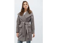 Пальто PL-8668-4 Серый