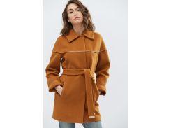 Пальто PL-8628-10 Camel