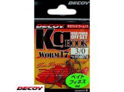 Worm 17 Kig Hook 3, 7шт крючок Decoy