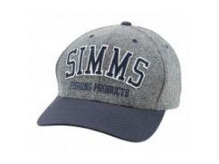 Wool Varsity Cap Coal кепка Simms