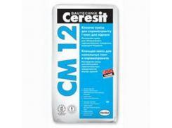Клей Для Керамогранита Ceresit См 12 25кг Серый