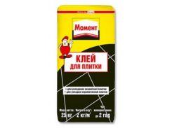 Клей Для Плитки Henkel Момент 25кг Серый