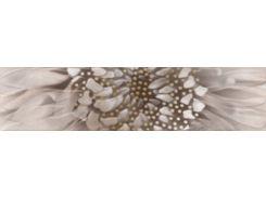 Фриз Golden Tile Зебрано Бежевый 6*25 Фриз (К61311) 60x250 мм