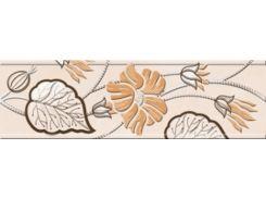 Фриз Golden Tile Карат Бежевый 6*20 Фриз (Е91311) 60x200 мм
