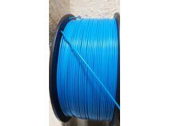 Пластик АБС для 3Д печати 1кг голубой