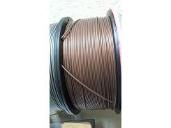 Пластик АБС для 3Д печати 1кг бронзовый