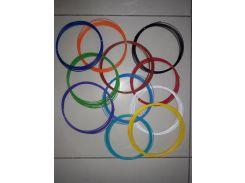 Комплект АБС пластика 15 цветов по 5м.