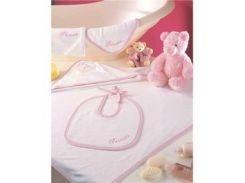 Детский набор для ванной TAC Baby towel sets princess розовый
