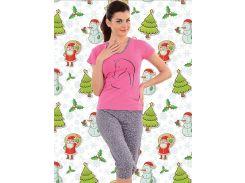 Комплект футболка + капри Turteks T4121 48 Разные цвета