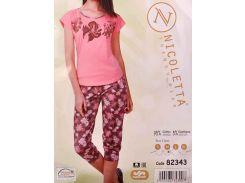 Комплект футболка + капри ТМ Nicoletta  82343 XL
