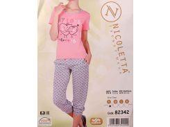 Комплект футболка + капри ТМ Nicoletta  82342